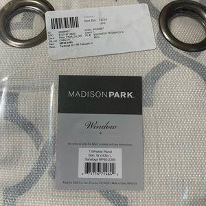"madison park Accents - Madison Park Saratoga  50""x63"" curtain panel"